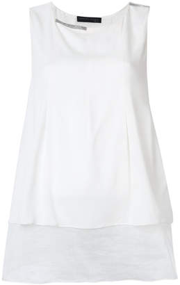 Fabiana Filippi layered sleeveless blouse