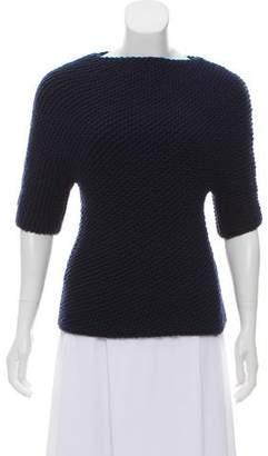 TSE Cashmere Short Sleeve Sweater