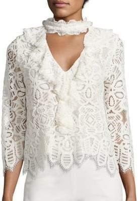 Waverly Lace Choker Top