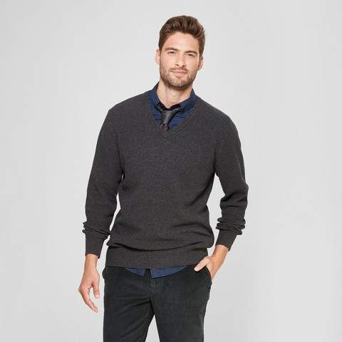 Goodfellow & Co Men's Standard Fit Crew Neck Sweater - Goodfellow & Co Medium Heather Gray