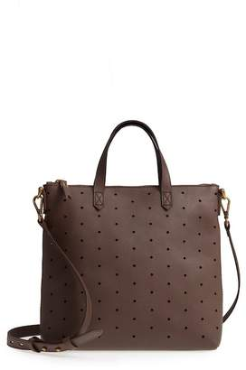 Madewell Mini Transport Perforated Leather Crossbody Bag