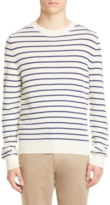 A.P.C. Pull Gaspard Stripe Wool Sweater