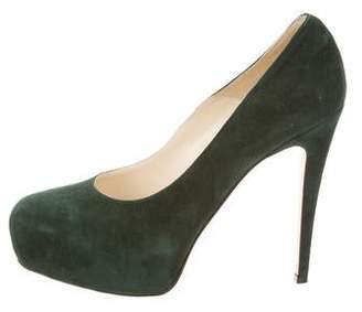 Brian Atwood Maniac Suede Pumps