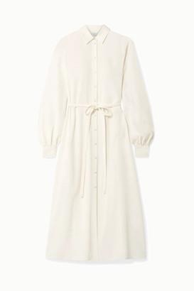 Co Crepe Midi Dress - Ivory