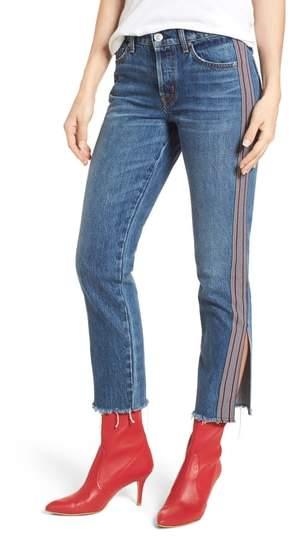 Riley Crop Straight Leg Jeans
