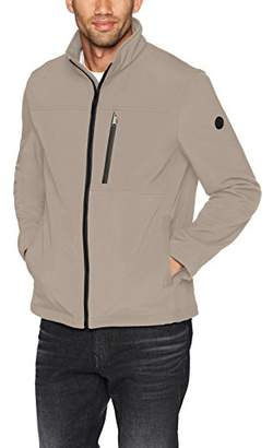 Calvin Klein Men's Soft Shell Jacket with Detail
