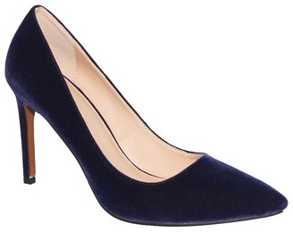 Women's Ally Velvet Pumps - Who What Wear $37.99 thestylecure.com