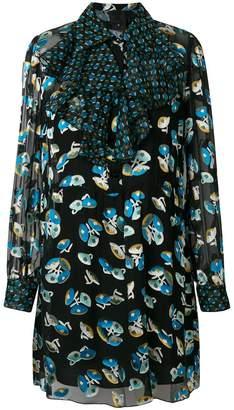Anna Sui floral pattern dress