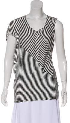 Zero Maria Cornejo Striped Sleeveless Top