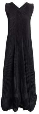 Issey Miyake Long Petal A-Line Dress