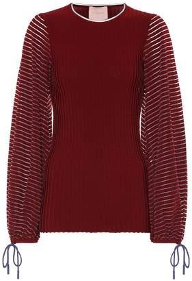 Roksanda Saida ribbed-knit top