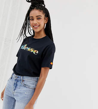 Ellesse relaxed t-shirt with world map front logo