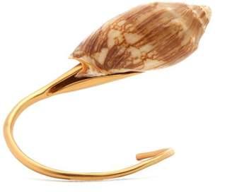 Albus Lumen - X Ryan Storer Shell Embellished Cuff - Womens - Gold