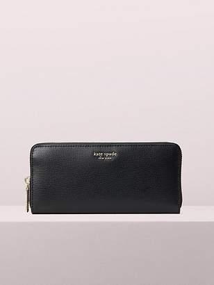 Kate Spade Sylvia Slim Continental Wallet, Black