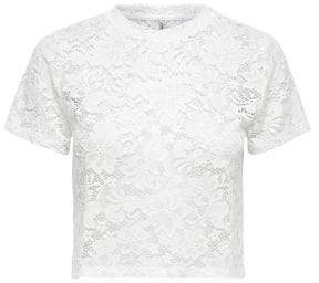 Only Lace Cropped Top