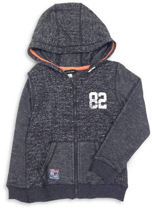 PREVIEW Boy's Heathered Zip-Front Hoodie