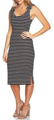 CeCe Stripe Knit Tank Dress