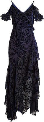Peter Pilotto Dress with Velvet and Silk