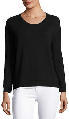 Neiman Marcus Majestic Paris for Soft-Touch French Terry Sweatshirt