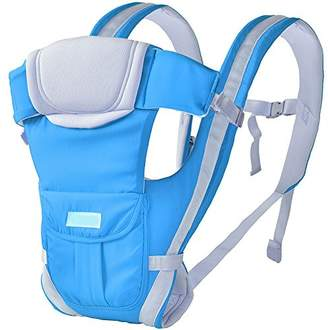 ThreeH Baby Carrier Back Support 3 Carry Positions for All Seasons BC06