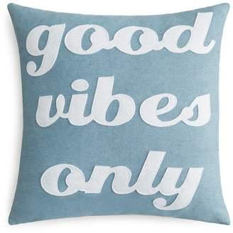 Alexandra Ferguson Good Vibes Only Decorative Pillow, 16 x 16