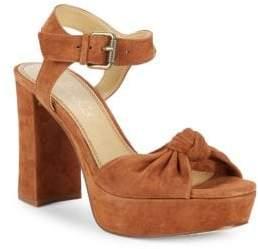 """Splendid Bates Suede Platform Sandals/3.75"""""""