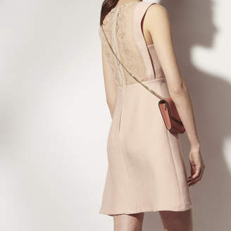 Sandro Sleeveless dress, lace back