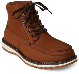 Kenneth Cole Reaction Tan Claxtin Lace-Up Boots