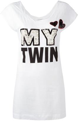 Twin-Set 'My Twin' T-shirt $96.24 thestylecure.com