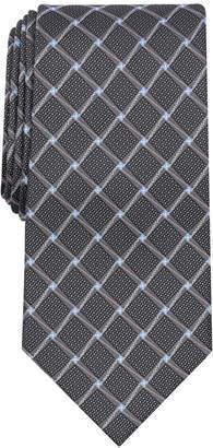 Perry Ellis Men's Bastille Grid Silk Tie