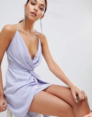 The Jetset Diaries Knot Front Mini Dress