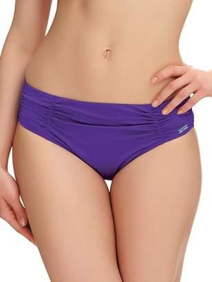 Fantasie Los Cabos Mid-Rise Bikini Bottom, S, Violet