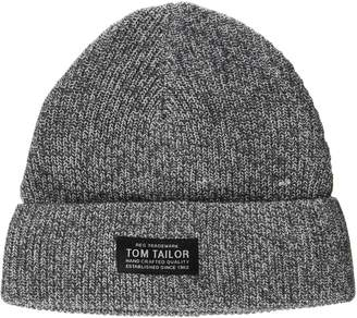 Tom Tailor Men's Structured Beanie (Silver Grey 2001) One Size