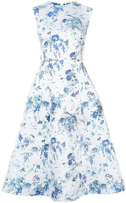 ADAM by Adam Lippes floral-print fluted midi dress