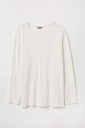 H&M Fine-knit Sweater - White
