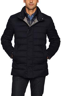 Cole Haan Men's Quilted Jacket with Light Weight Bib