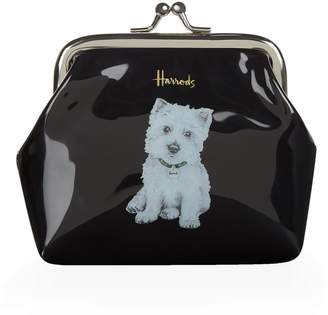 Harrods Westie Puppy Coin Purse