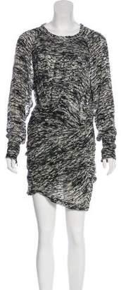 Isabel Marant Devoré Camouflage Dress
