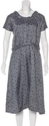 Marni Geometric Midi Dress