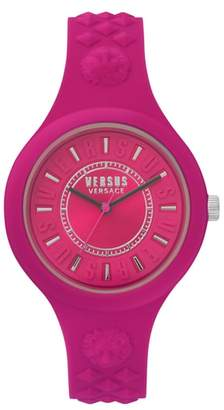 Versace VERSUS VERSUS by Fire Island Silicone Strap Watch, 39mm