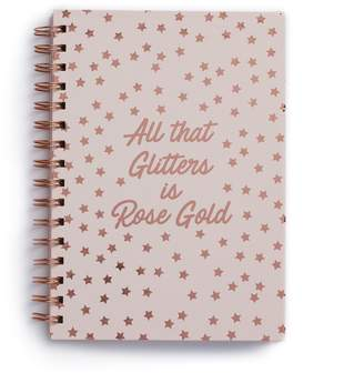 """Lauren Conrad All That Glitters is Rose Gold"""" Star Notebook"""