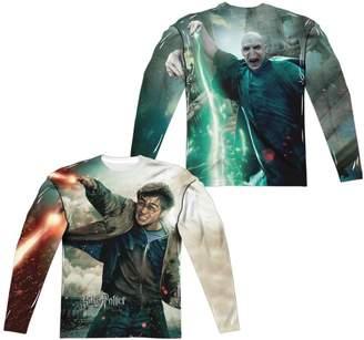 Victoria's Secret Harry Potter Harry Voldemort (Front Back Print) Long Sleeve Adult Poly Crew