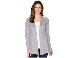 Mod-o-doc Linen Jersey Twist Back Cardigan Women's Sweater