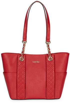 Calvin Klein Women's Saffiano Leather Tote