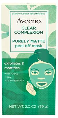 Aveeno Clear Complexion Pure Matte Peel-Off Face Mask