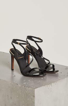 BCBGMAXAZRIA Amilia Faux Patent Leather Sandal