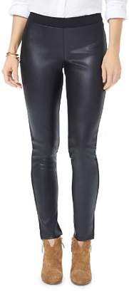 NYDJ Faux Leather Front Leggings