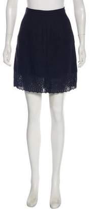 Andrew Gn Embroidered Knee-Length Skirt