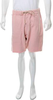 Mr. Completely Contrast Zipper Shorts w/ Tags