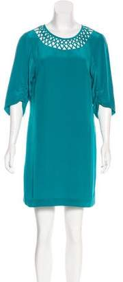 Tibi Half Sleeve Mini Dress